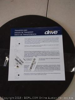 Drive medical lifestyle transfer discs 15 in