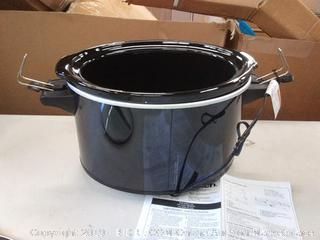 Hamilton Beach 33195 Extra-Large Stay or Go Slow Cooker 10
