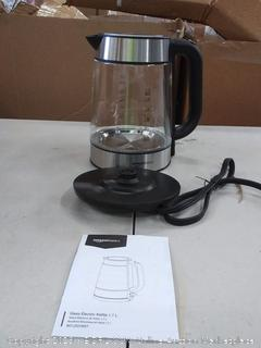 amazonbasics glass electric kettle