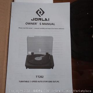 Turntable Portable