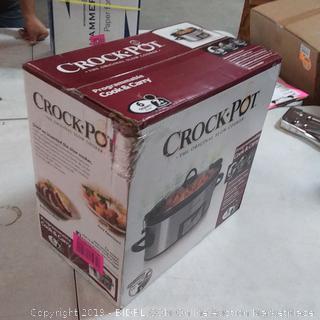 Crock-Pot SCCPVL610-S 6-Quart Programmable Slow Cooker