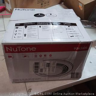 NuTone Ceiling Exhaust Fan with Light and Heater 9093WH