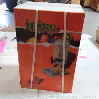 juice dispenser crestware