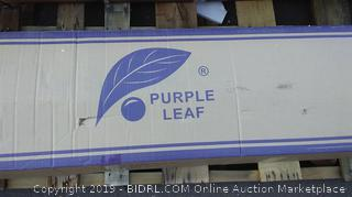 "Purple Leaf Gazebo Khaki 10""x13"""