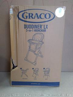 Graco Duo dinner LX 3 in 1 highchair (online $107)
