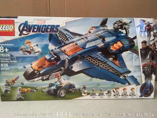 LEGO Marvel Avengers Super Heroes Avengers Ultimate Quinjet (onine $79)