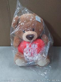 "Aurora World 15"" Endearing Teddy - Lg"