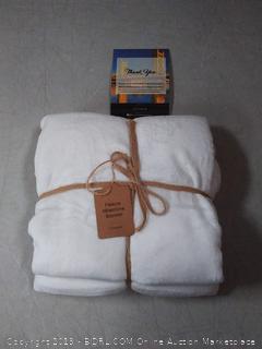 plush fleece baby blanket