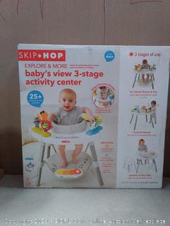 Skip Hop Explore & More Babys View 3- Stage Activity Center (online $120)