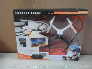 The Sharper Image 14.4-in. Lunar Drone with HD Camera & Virtual Reality Smartphone Viewer (online $60)
