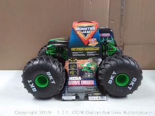 Monster Jam, Official Mega Grave Digger All-Terrain Remote Control Monster Truck with Lights (online $89)