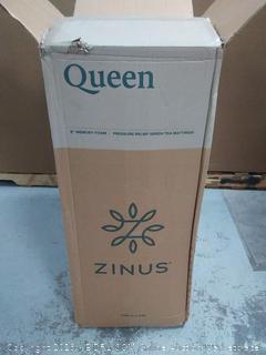 """Pressure Relief Green Tea Memory Foam Queen Mattress 8"""" (online $156)"""