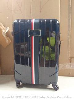 Tommy Hilfiger Lochwood 24 inch upright Navy suitcase (online $85)