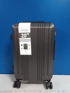 20 inch spinner luggage expandable