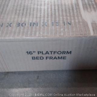 zinus metal bed frame