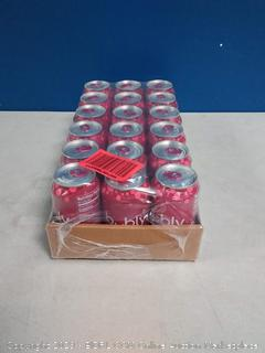 bubly Sparkling Water, Raspberry, 12oz Cans, 18 Count