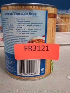Libby's Jumbo Can Sauerkraut, 27-Ounce Cans (Pack of 12)