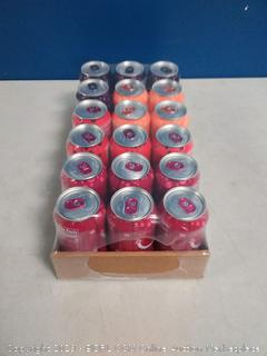 bubly Sparkling Water, Berry Peachy Variety Pack, 12 fl oz. Cans, (Pack of 18)