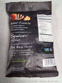 Bare Fiji and red apple chips