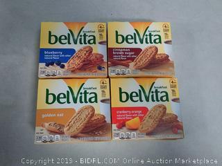breakfast belvita variety pack breakfast biscuits 6 cartons