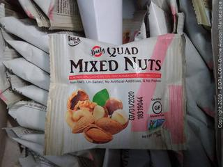 daily quad mixed nuts 24 packs