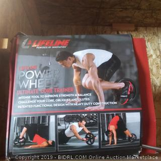 Lifeline Power Wheel ultimate CORE trainer