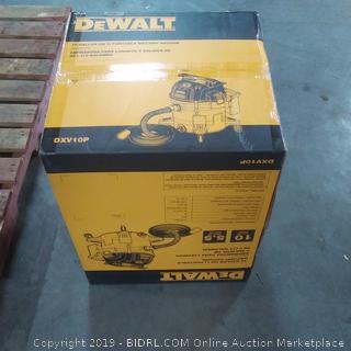 DeWalt 10 gallon portable wet dry vacuum