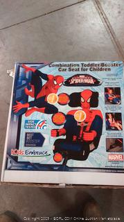 Kids Embrace Spider-Man Booster Seat