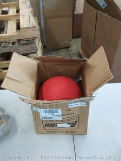 Franklin kickball 10 in red
