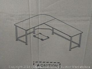 SimLife Reversible L-Shaped Corner Computer Desk (Large Size) online $149