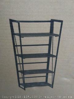 bookshelf storage shelves for tier bookcase home office cabinet industrial standing racks study organizer