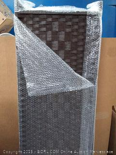 Diamond weave room divider 8 panel (online $150)