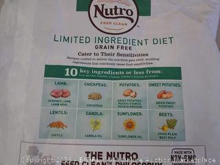 Nutro limited ingredient diet small bites adult dog food 11 pound bag