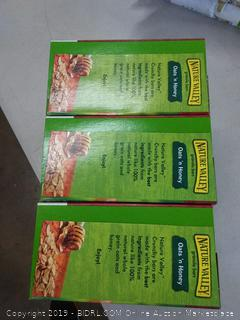 Nature Valley Value Pack three boxes