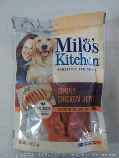Milo's Kitchen simply chicken jerky dog treats