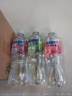 propel variety pack of three flavors watermelon black cherry kiwi strawberry 11 count one black cherry missing