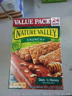 Nature Valley Granola Bars, Crunchy, Oats and Honey, 1.49 Ounce , 24 Count (Pack of 3)