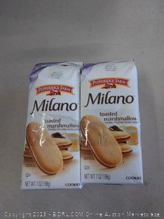 Pepperidge Farm Milano® Cookies Toasted Marshmallow -- 7 oz (pack of 3)