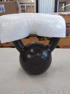 cast iron kettlebell 20 lb