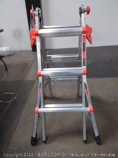 LITTLE GIANT 13 ft. Aluminum Multipurpose Ladder, 300 lb. Load