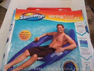 swimways spring float recliner XL (Online $93)