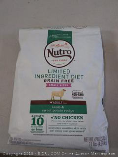 Nutro limited ingredient diet adult dog food 11 pound bag