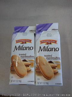 Pepperidge Farm Milano® Cookies Toasted Marshmallow -- 7 oz count of 4