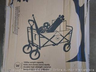(wall L)whitsunday wagon hundred 50 lb weight capacity for sports equipment