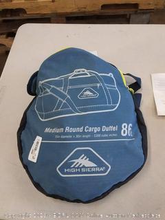 High Sierra packed cargo duffel 15 x 30 in