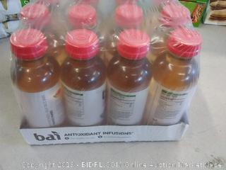 Bai Flavored Water Malawi Mango Antioxidant Infused Drinks 12 pack