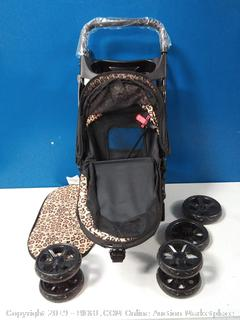 Pet Stroller Zipperless Happy Trails Lite Entry Easy Removable (online $60)