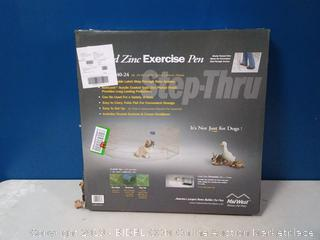 "Midwest Gold Zinc Pet Exercise Pen 8 panels Gold 24"" x 24""(Factory Sealed) COME PREVIEW!!!!"