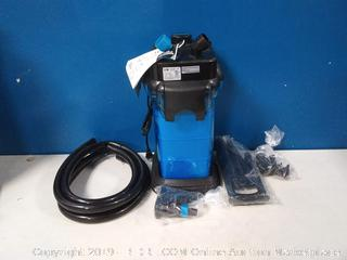 Cascade CCF3UL Canister Filter For Large Aquariums and Fish Tanks(bottom broken)