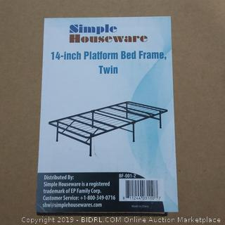 Simple Houses are 14 inch Platform Bed Frame